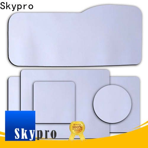 Skypro High-quality black mouse mat manufacturer used as promotion gift