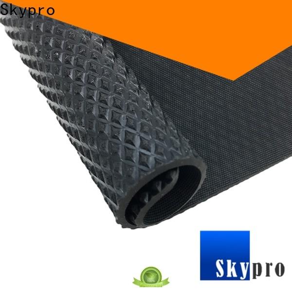 Professional blue rubber matting supplier