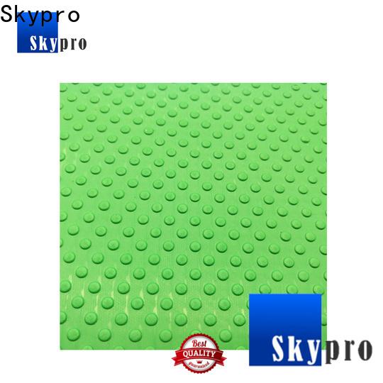 Custom made outdoor rubber drainage mats vendor for home