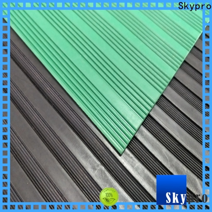 Professional outdoor rubber floor tiles company for car