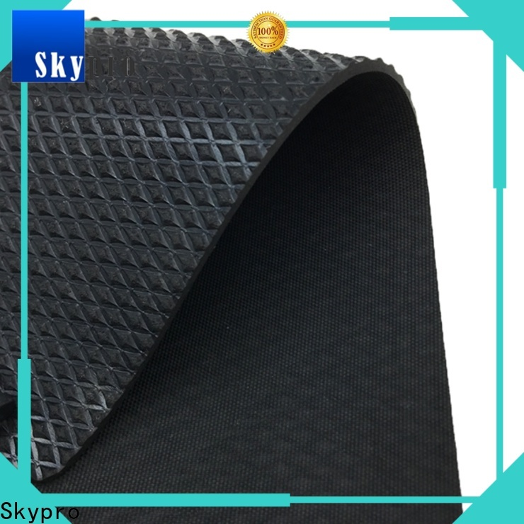 Skypro rubber mat with holes company for flooring mats