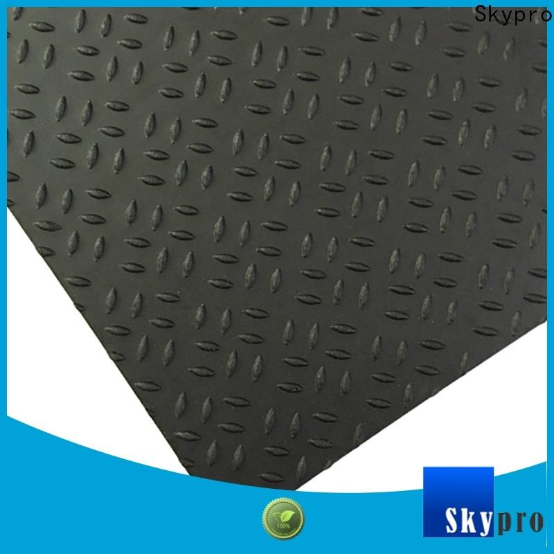 High-quality black rubber floor tiles supplier