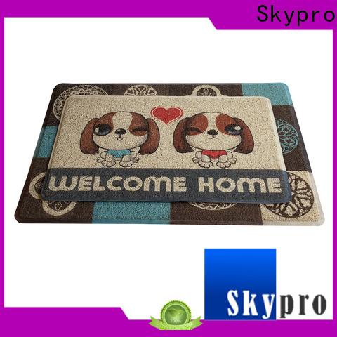 Skypro Custom made black door mat supplier for hotel