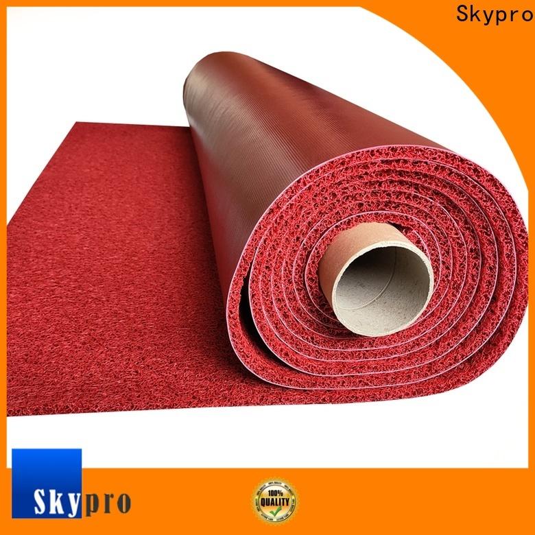 Skypro Best pvc floor mat price factory