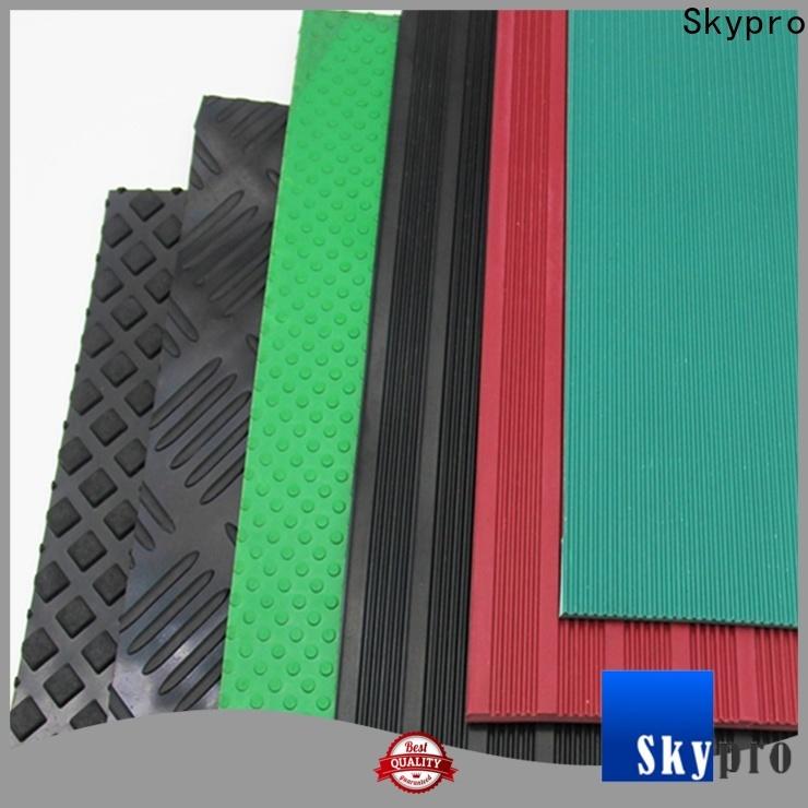 Skypro black rubber floor mats vendor