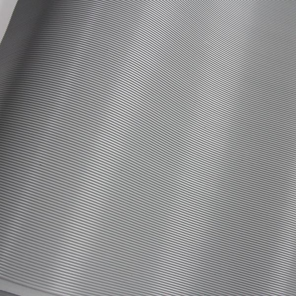 Non slip rubber pad, grey pinstripe rubber sheet roll