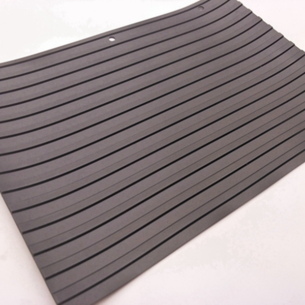 Ribbed insulation rubber sheet by the EU quality certification