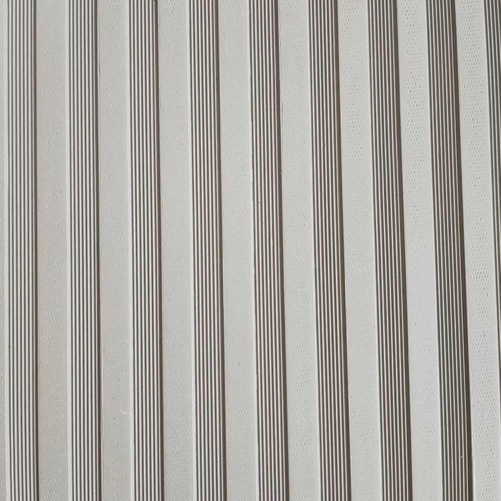 Electric Insulating Mats With Stripe Face Rubber Gray 6MM 35Kv
