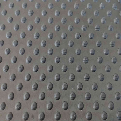 Black Grooved Little Dot Pattern Cow Stable Rubber Mat Anti-slip Flooring Safe Rubber Mats