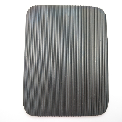 Durable Black Dairy Rubber Cow Mat Fine Ribbed Quine Mat Shock Proof Mat