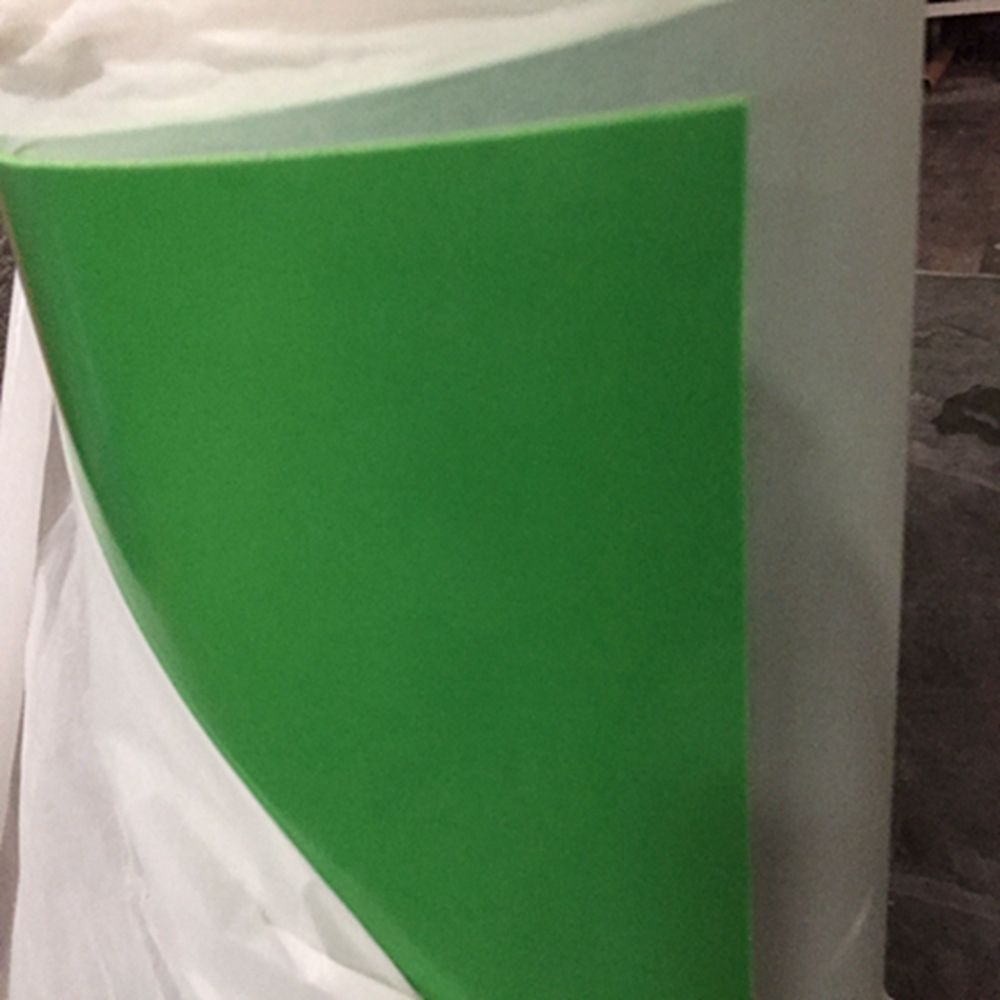 Green High Density Black Neoprene Rubber Rolls Insulation Rubber Sheet