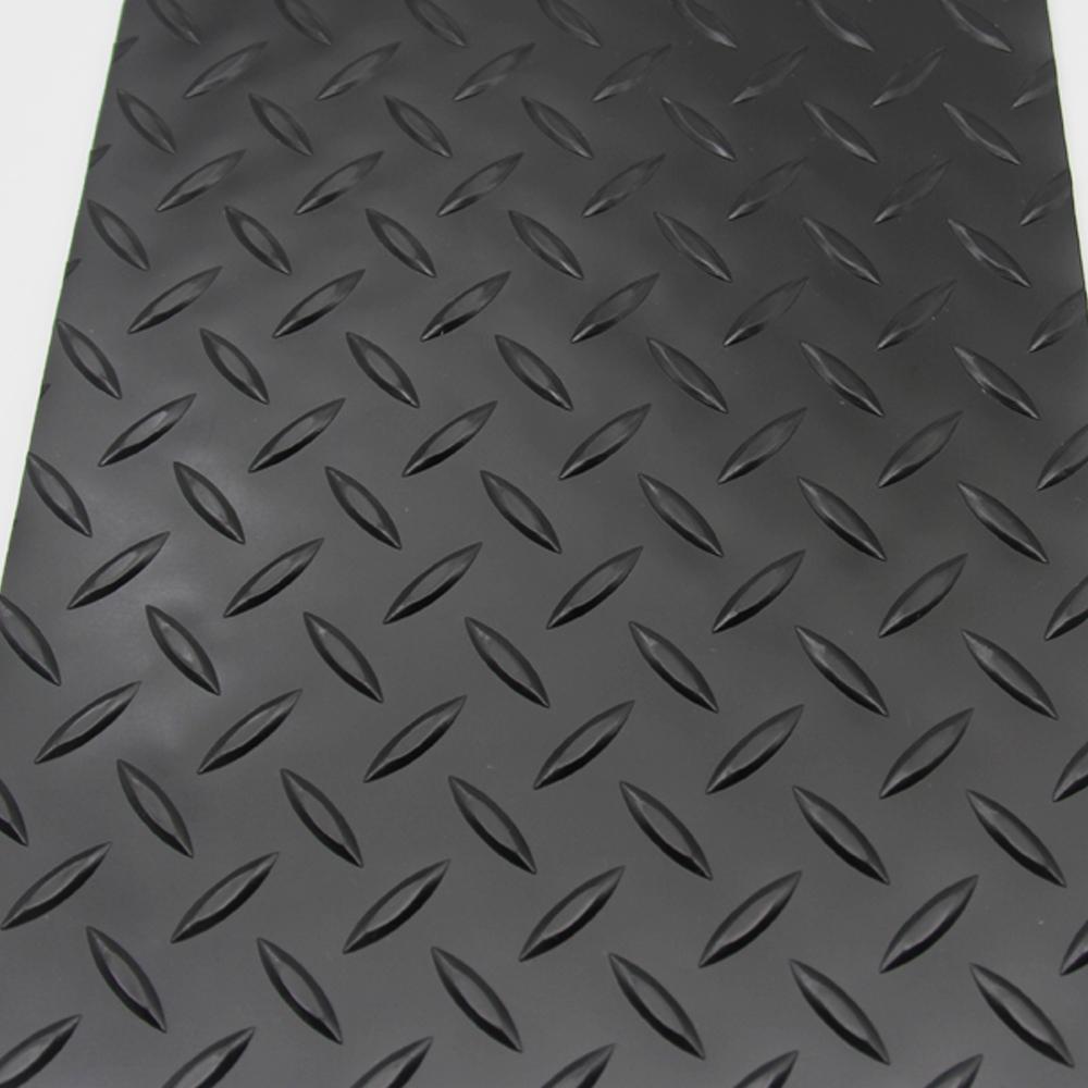 3mm thick diamond tread pattern rubber sheet, willow leaf floor mats