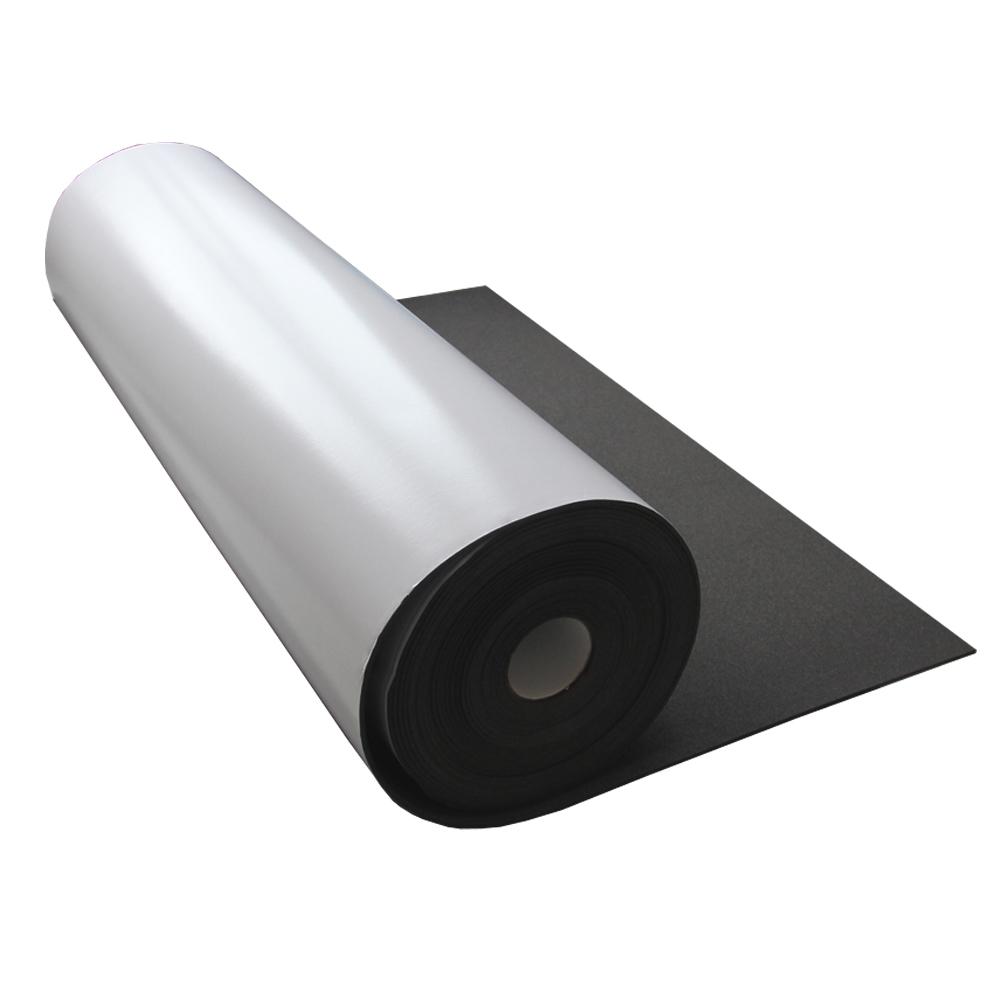 Black neoprene roll adhesive waterproof rubber foam insulation sheet