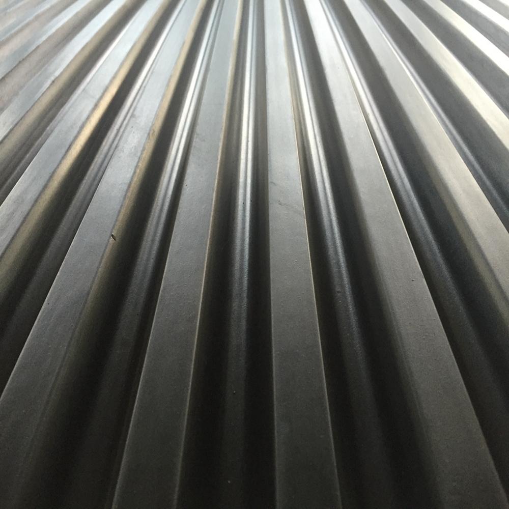 Non-slip Heavy Duty Garage Outdoor Ribbed Flooring Matting