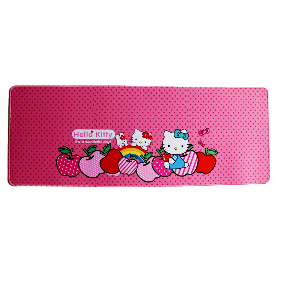 Kitty Cartoon Mouse Pad Cute Soft Gaming Mouse Pad