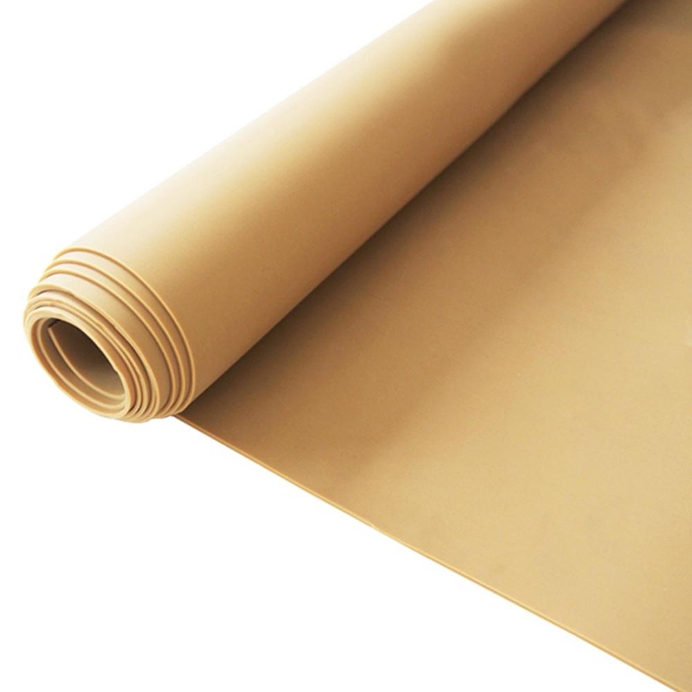 Good elastic tan pure gum natural rubber sheet whoelsale