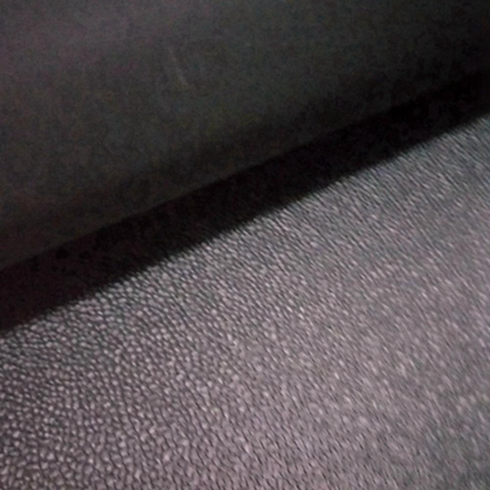 Black Leather Pattern Heavy Duty Rubber Sheet Commercial Grade SBR Flooring Matting