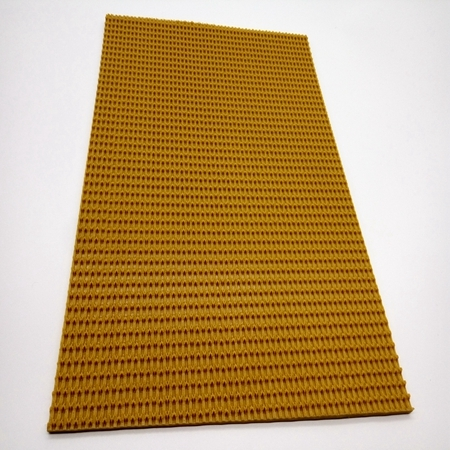Yellow PVC Industrial Conveyor Belt For Wood Processing Industry Anti-static