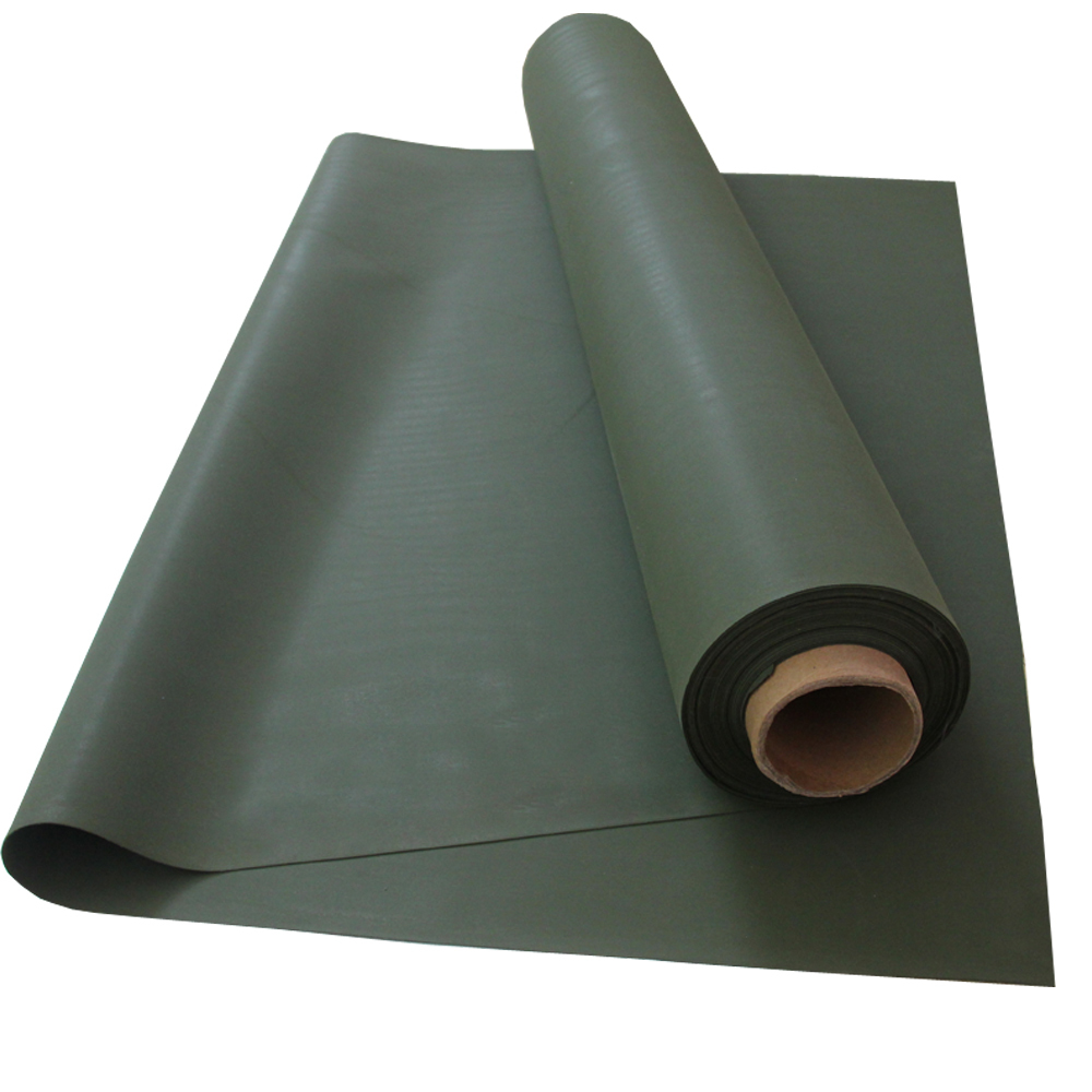 Wholesale Factory Price Hypalon Rubber , Foliage Green Hypalon Rubber For Military
