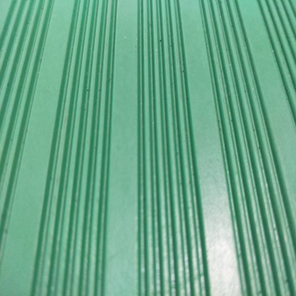 Hot sale oil resistant wide pinstripe nbr rubber sheet roll