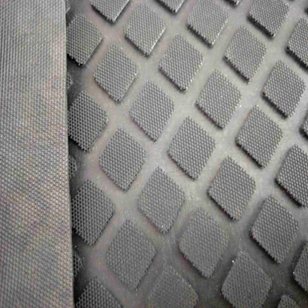 Elastic shockproof industrial anti-slip diamond rubber sheet floor mat