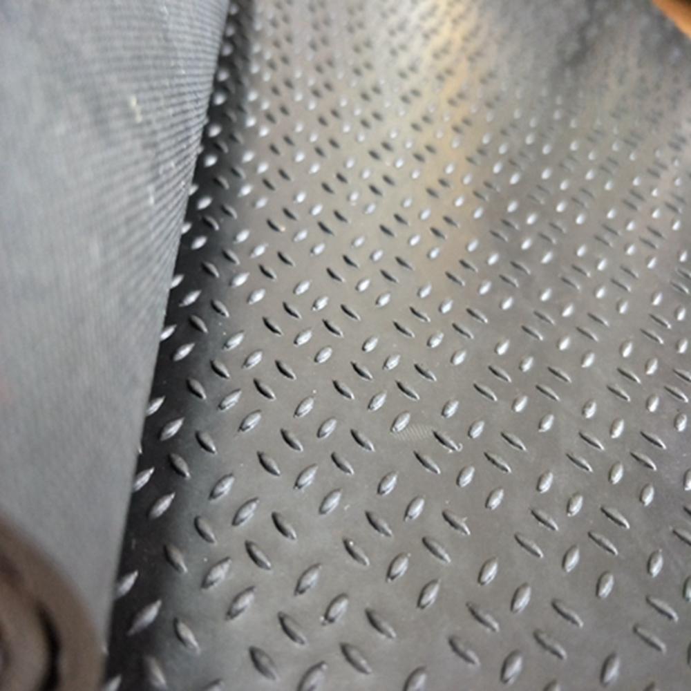 Anti-abrasion Skid-proof Floor Protective Diamond Thread Rubber Mat Flooring