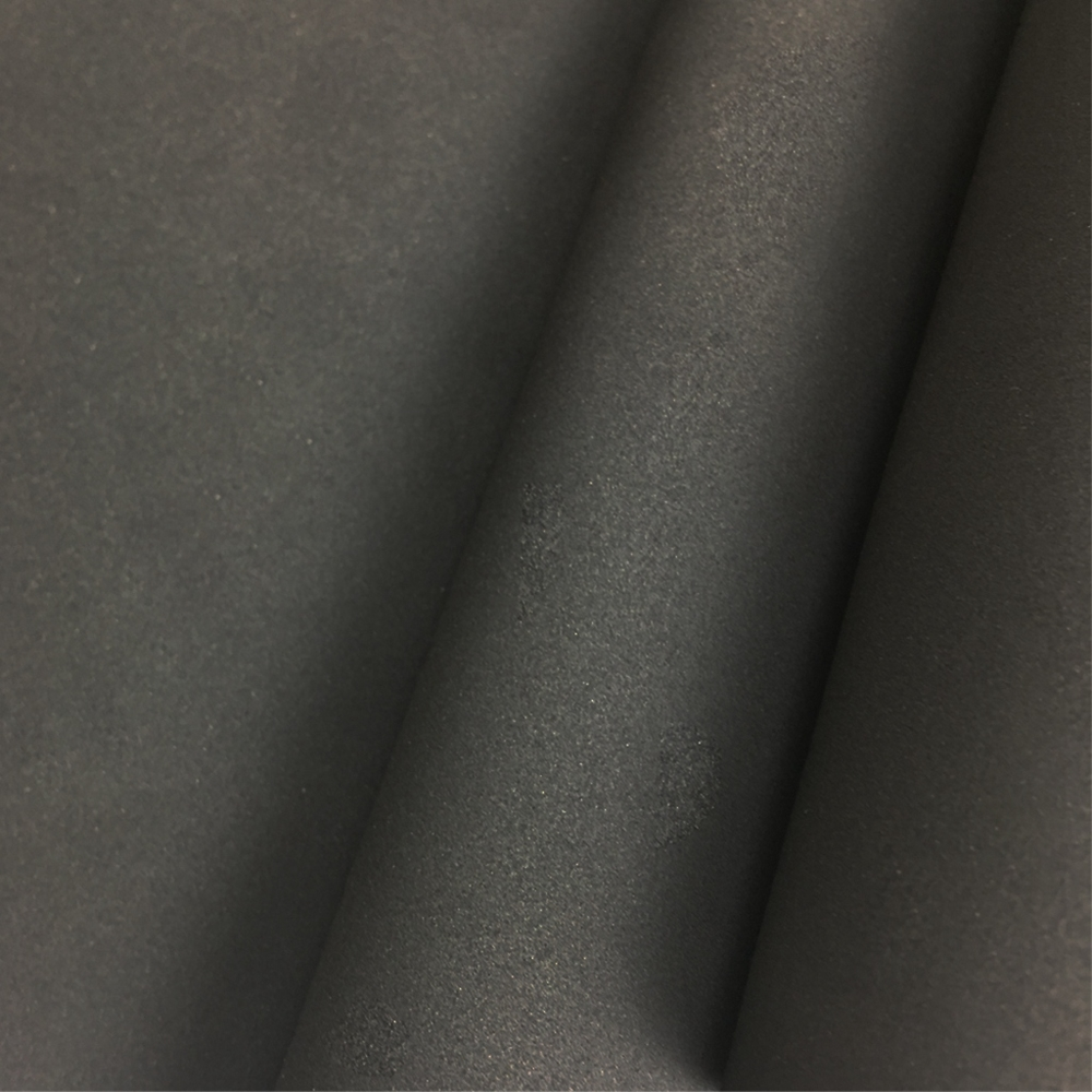 SBR neoprene sheet rubber foam laminated with fabrics