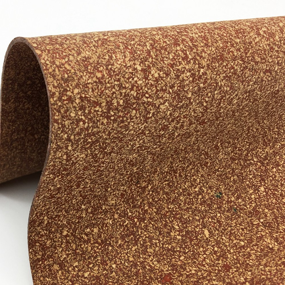 Wholesale high quality low price red rubber cork sheet