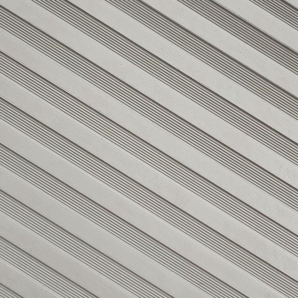 Rubber sheet black anti-abrasion stripe pattern rubber floor matting