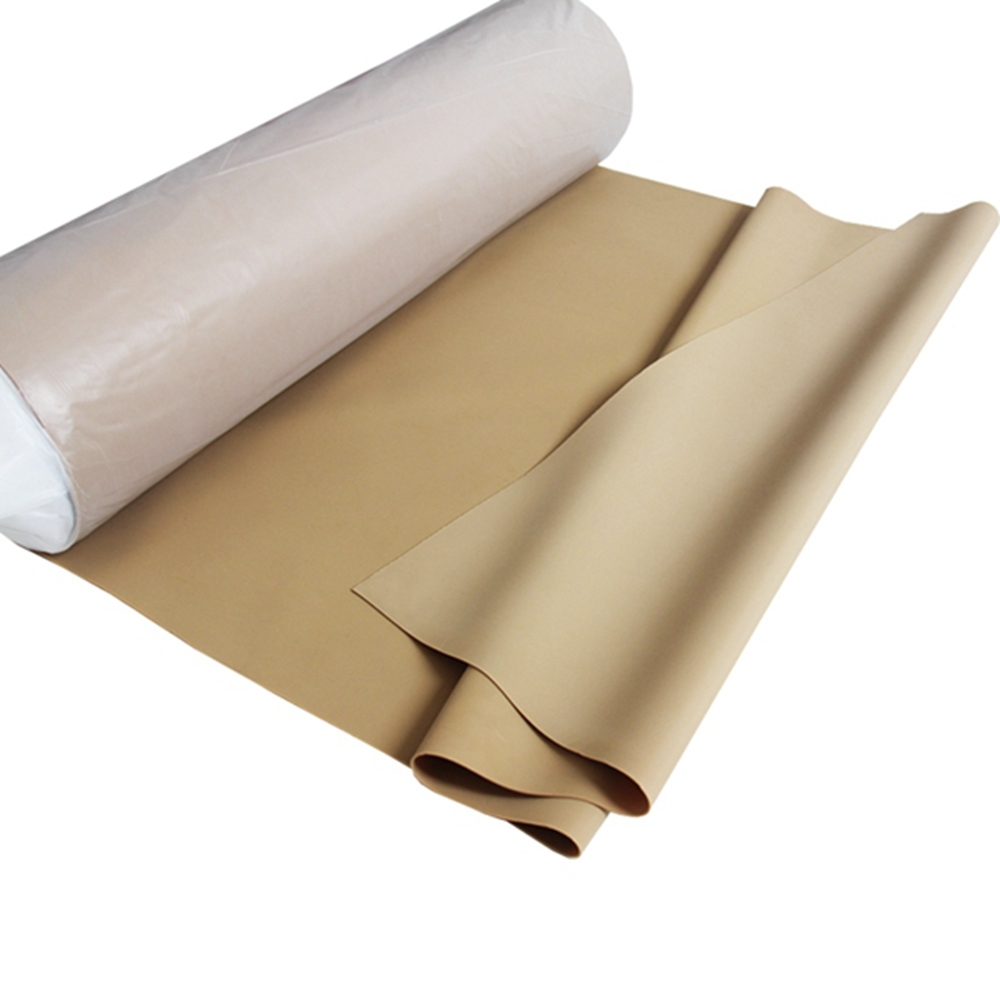 Good elastic tan pure gume natural rubber sheet with good quality