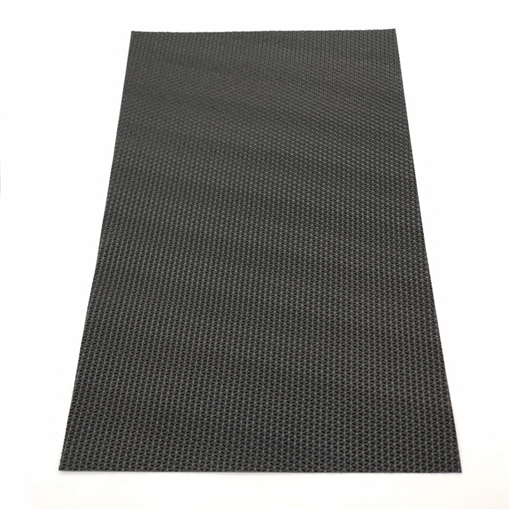 High Quality Durable Waterproof Antiskid PVC Mat With Black Color For Garage Floor