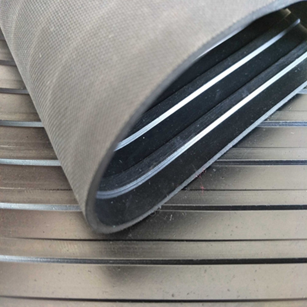 High quality new coming Ant-slip Water-proof Wide Ribbed Rubber Sheets