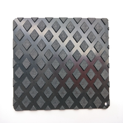 Durable Flooring Anti-fatigue New Sublimation Solid Square Rubber Mats