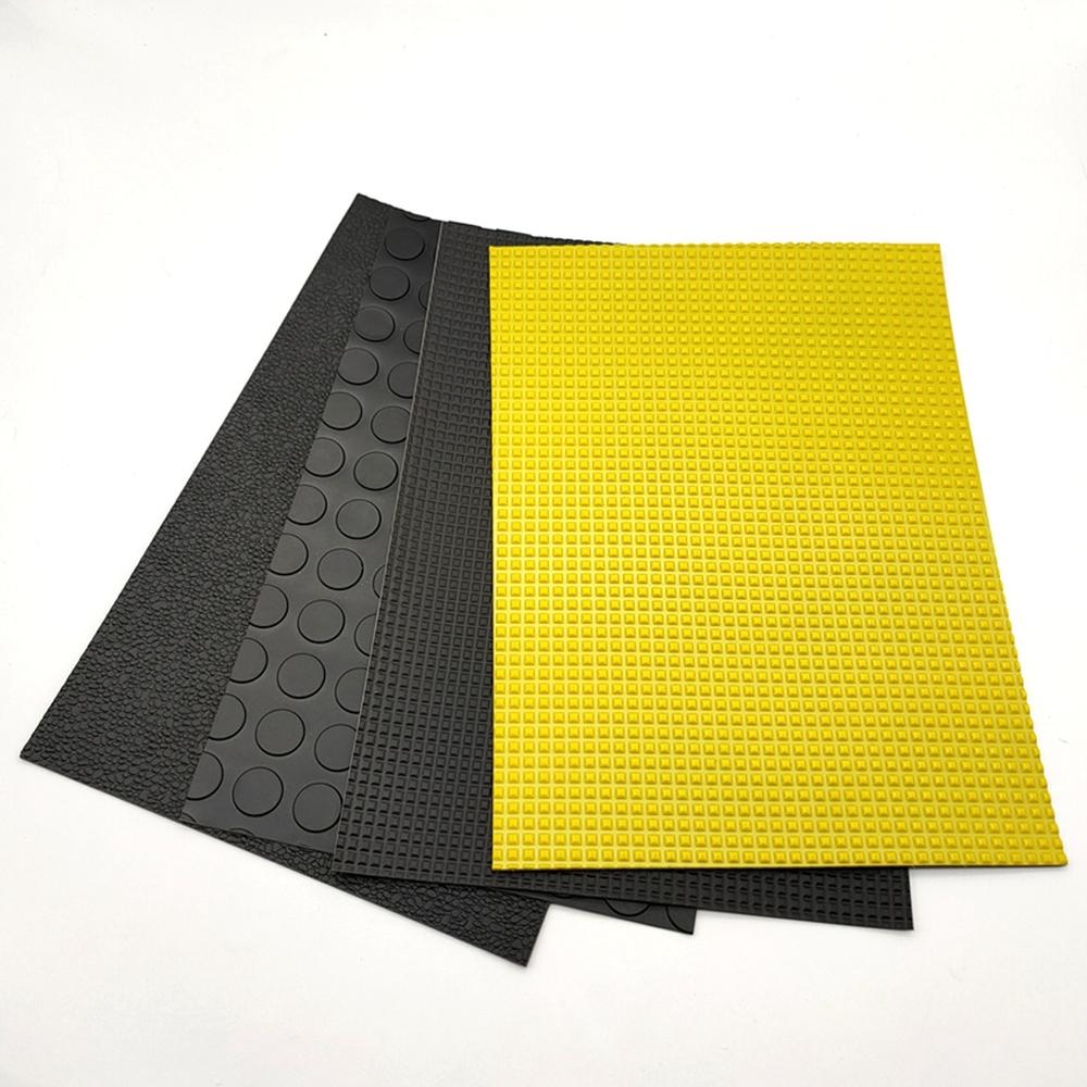 Good quality car interior material PVC plastic flooring car floor mats