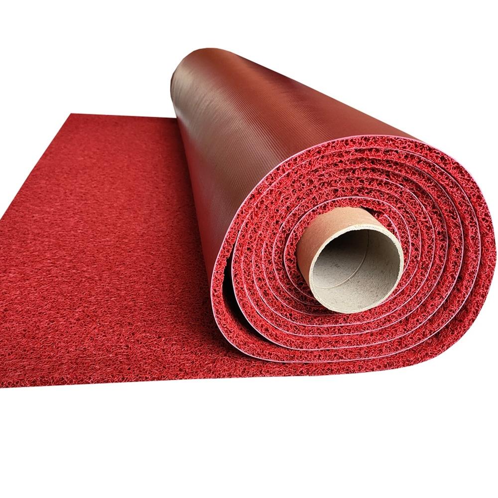 High Quality PVC Backing Coil Mat, PVC Firm Backing Cushion Mat Roll