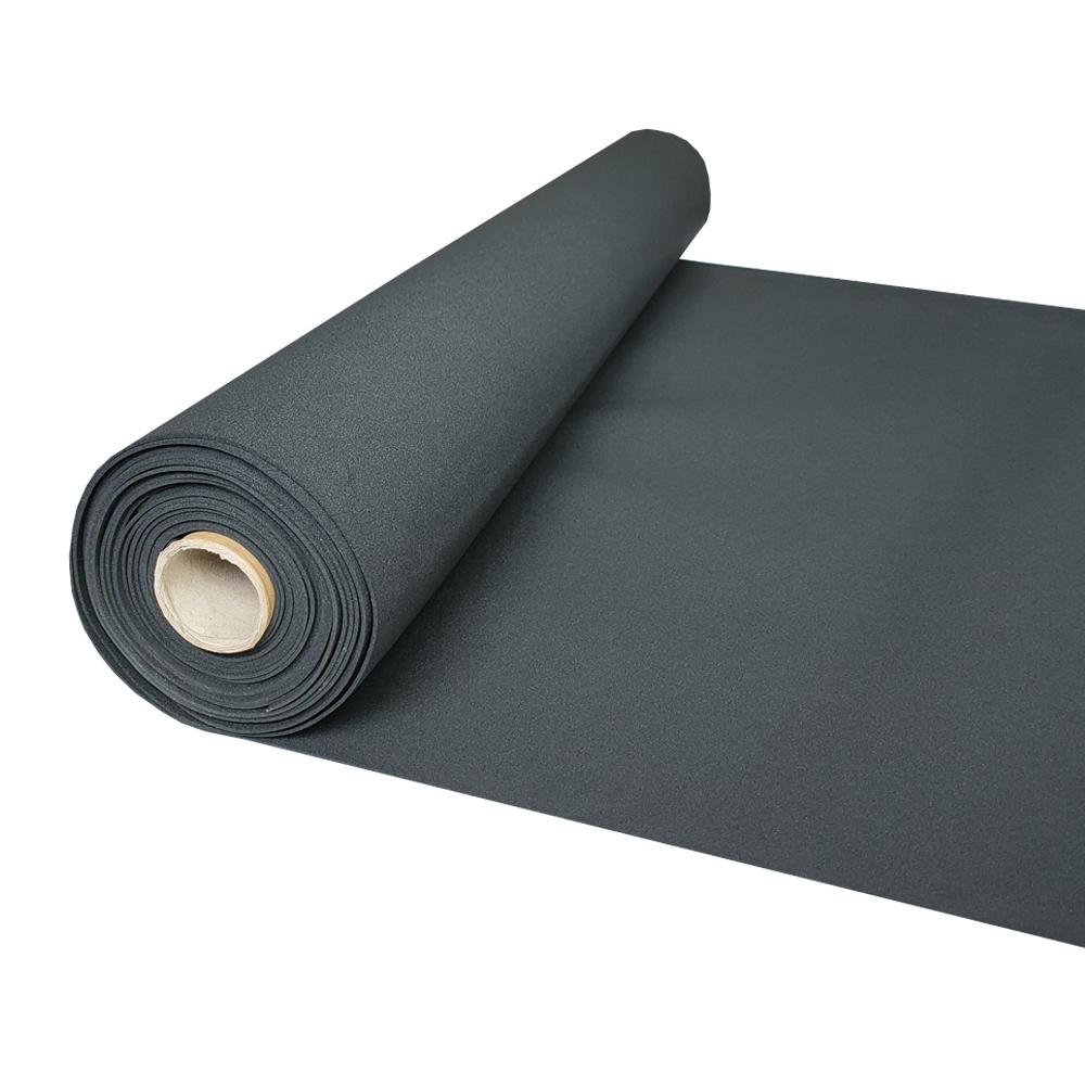 Waterproof heat resistant shock resistant buffer material EPDM CR neoprene rubber sheet