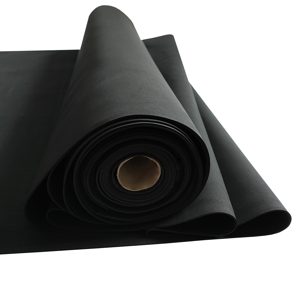 Environmental Extreme sound insulation opened cell epdm foam rubber sheet
