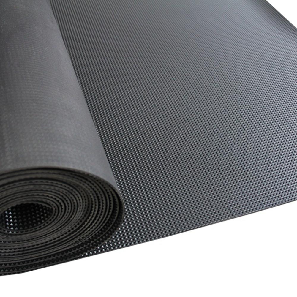 2.5MM - 5mm neoprene black fiber reinforced diamond cheap rubber sheet / matting / flooring