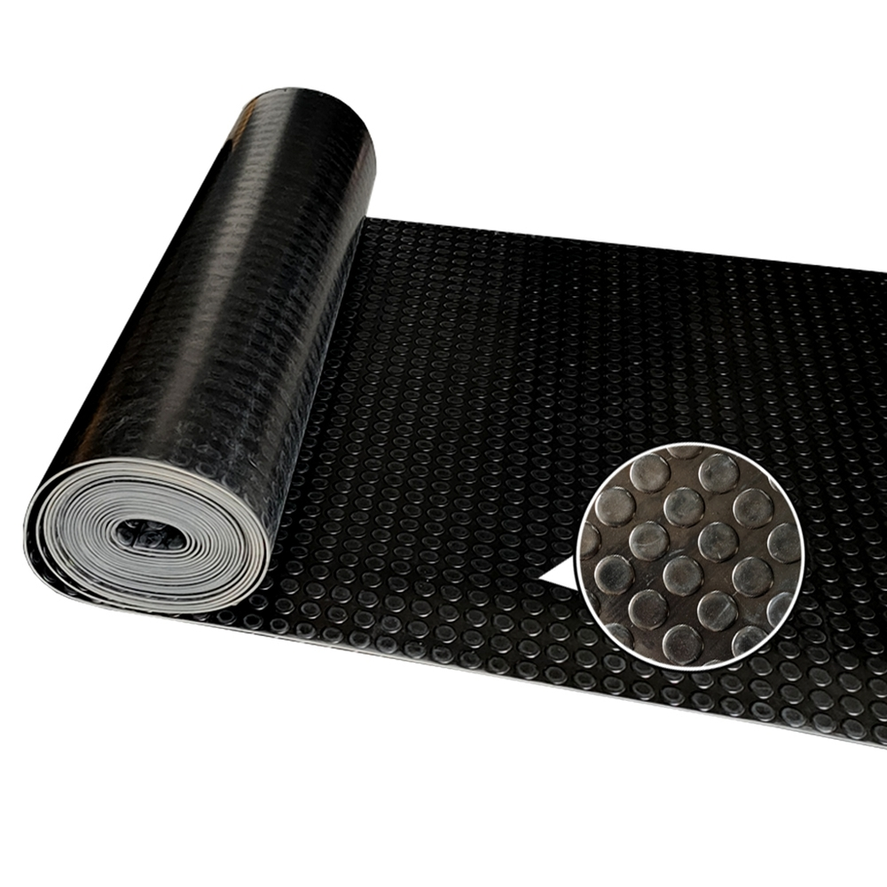 High Quality Cheap Price Heat Resistant Black Coin Rubber Mat