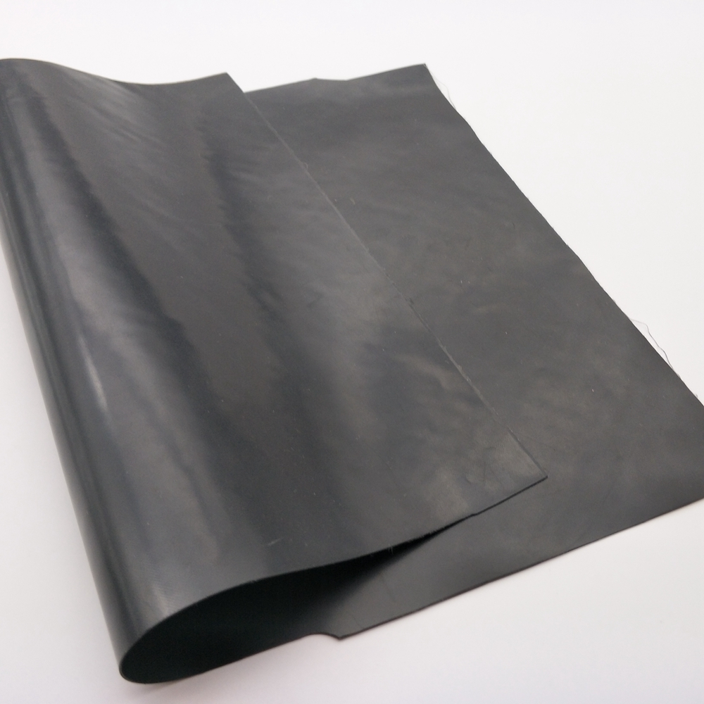 0.6mm NBR industrial rubber sheet with cloth in roll