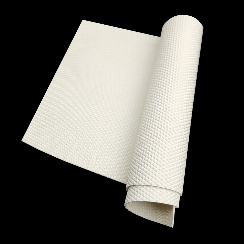 White diamond surface food grade conveyor belt best price for food industry
