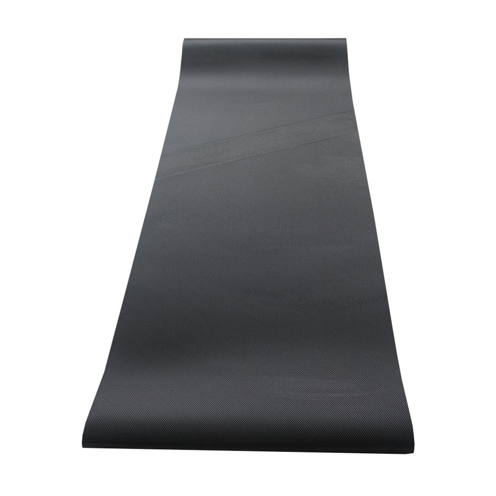 Industrial black pvc running conveyor belt for treadmill walking belt