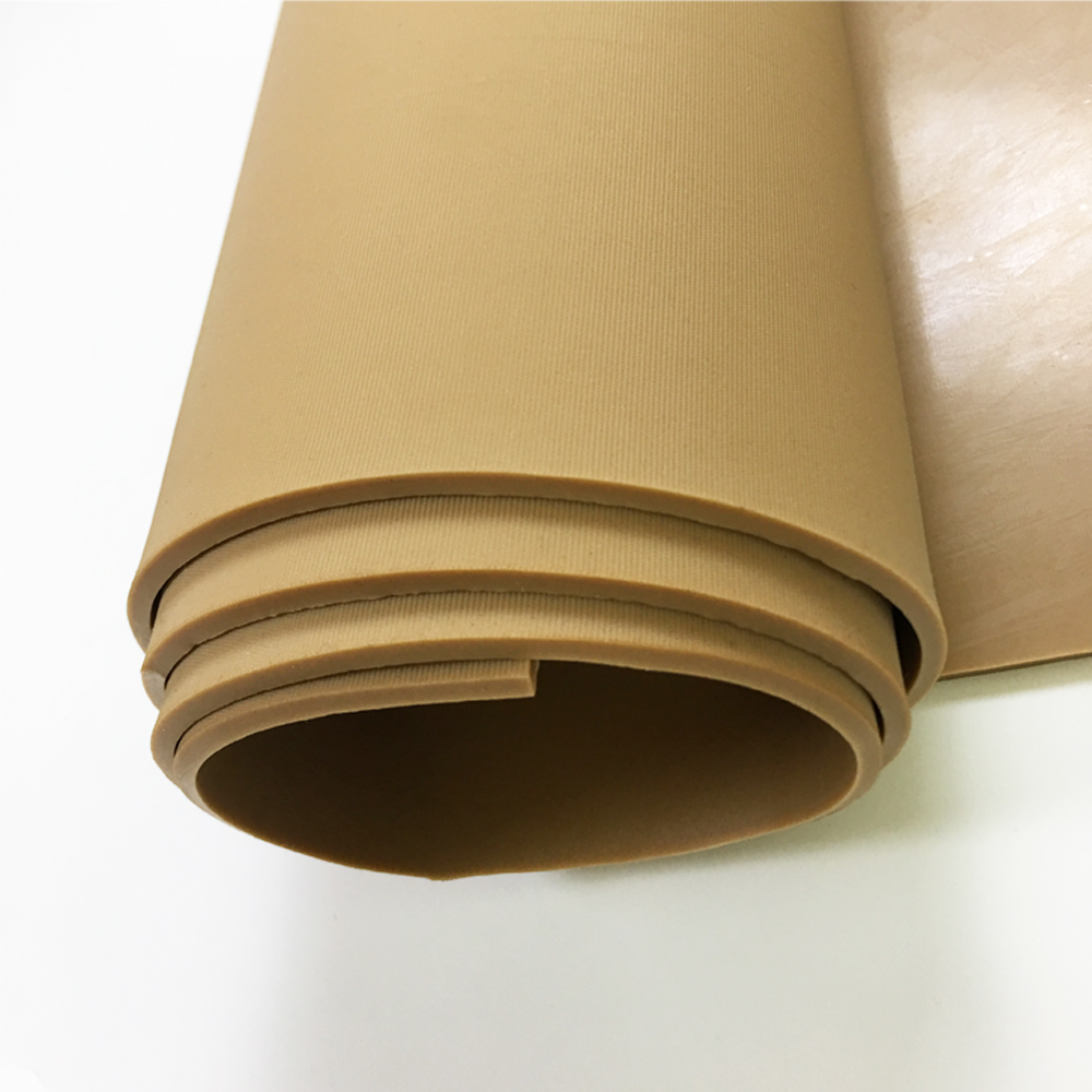 High Quality 100% Pure Natural Tan Inflatable Boats Gum Rubber Sheet Tan Rubber Sheets