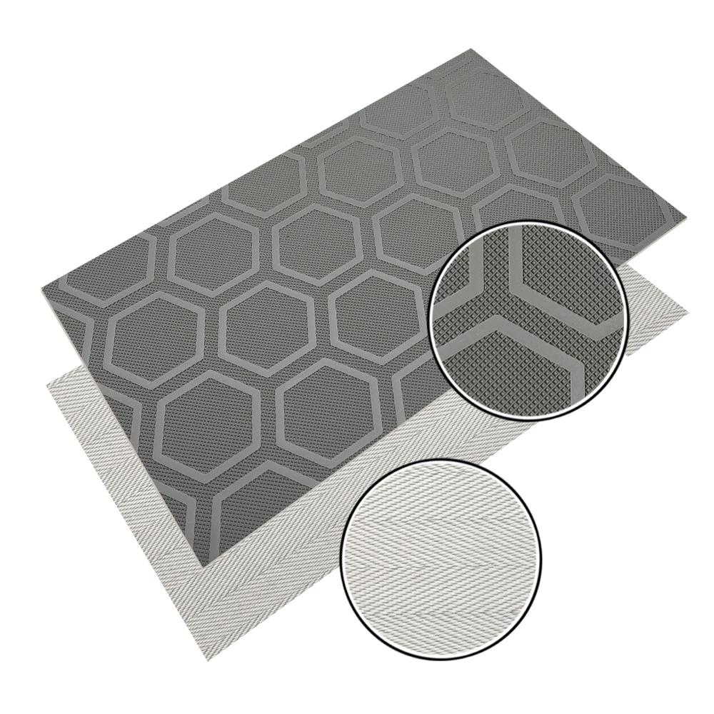Diamond/Golf Pattern Treadmill Conveyor Belt PVC/PU Conveyor Belt