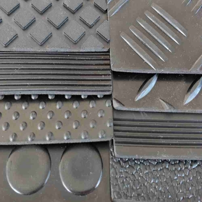 Electrical insulation high voltage anti-static rubber mat safety rubber matting for workplace