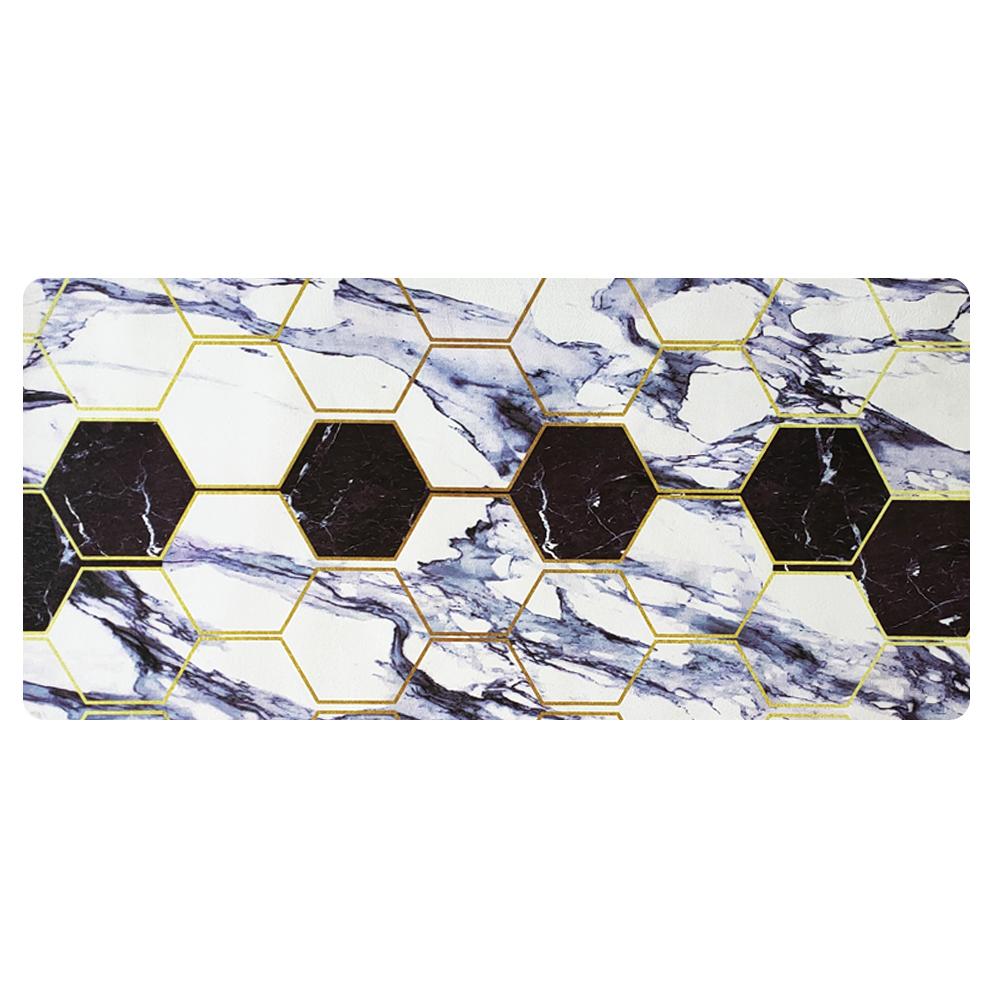 Polyester microfiber cotton velvet non-slip kitchen mat rubber backing floor mat kitchen mat anti fatigue