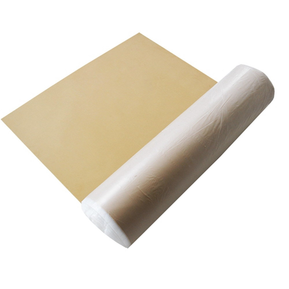 Natural heat resistant anti slip textured silicon thermal conductive rubber sheet