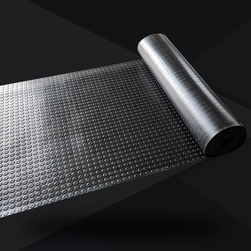 Anti Slip Round Stud Rubber Sheet Coin Rubber Flooring Mat
