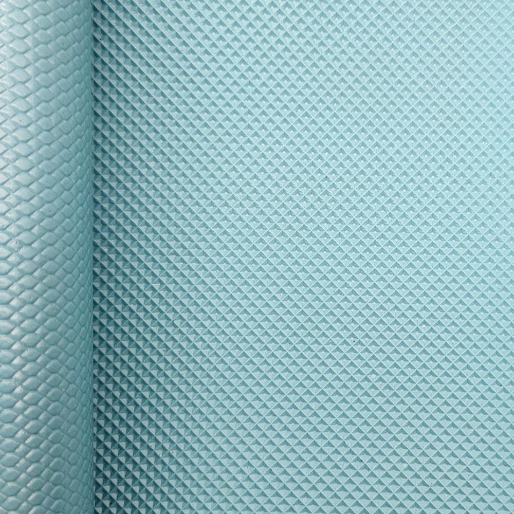 Self lubrication diamond pattern treadmill conveyor belt with wax