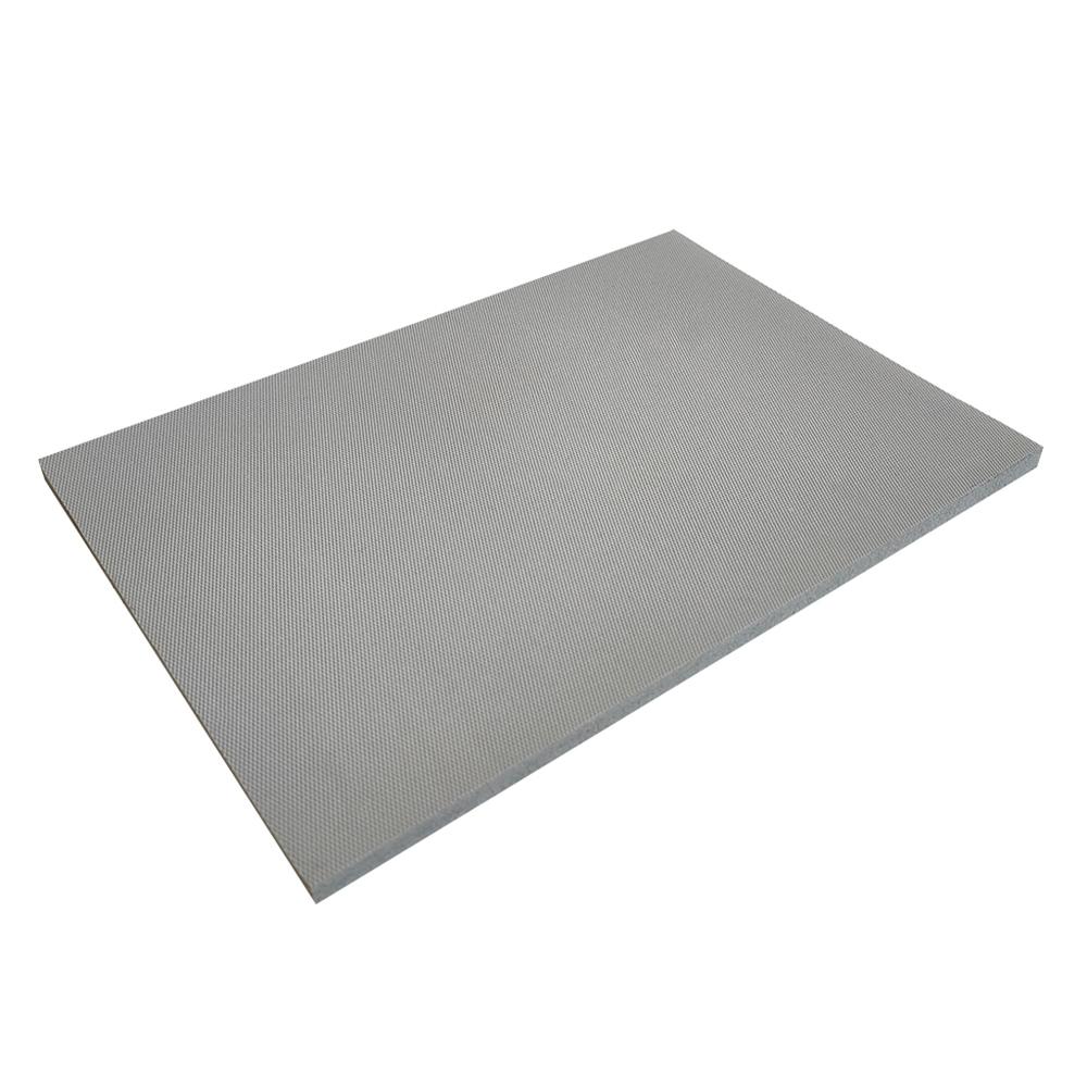 9.5MM Natural rubber sheet gray fireproof flame fire retardant natural rubber plate